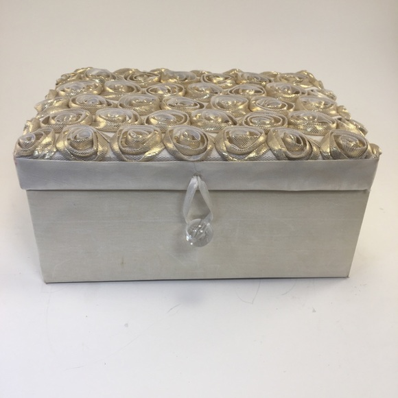 Other - Decorated Fabric Jewelry Box!